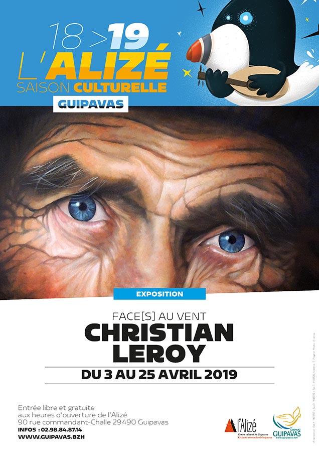 Alizé Guipavas avril 2019 affiche © LEROY