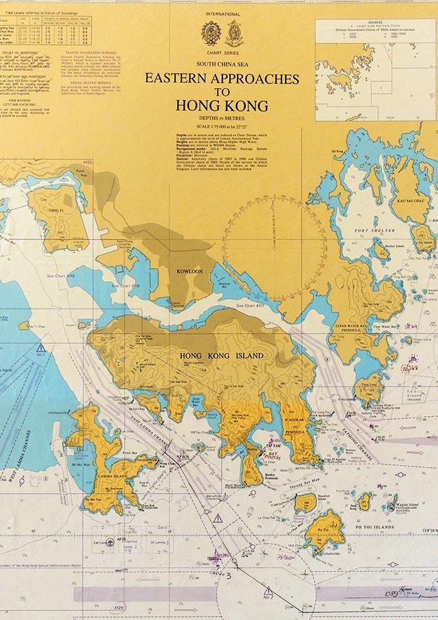 Carte marine WATEVER