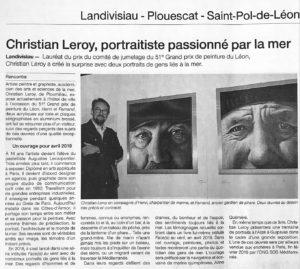 Ouest-France_2018-11-24 – Face[s] au vent © Christian LEROY
